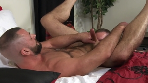 MenOver30.com - Liam Greer next to Jake Morgan rimming
