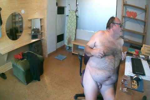 German chubby Bald chap Show only