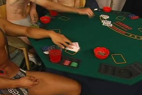 strip poker inevitably leads to gorgeous homosexual sex